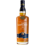 GLENLIVET Single Malt Scotch Whisky 18 y.o.