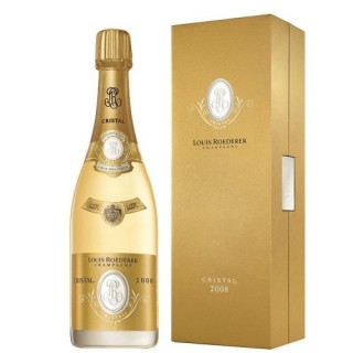 LOUIS ROEDERER Champagne CRISTAL Cofanetto 2008