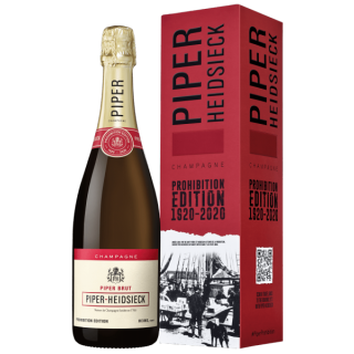 PIPER-HEIDSIECK Champagne Brut PROHIBITION EDITION 1920-2020