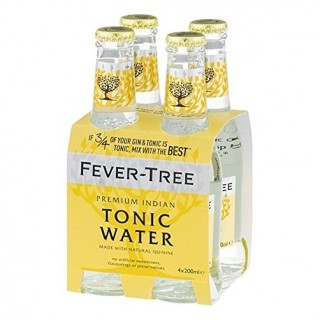 FEVER-TREE Indian Tonic Water Cluster Cl.20x4