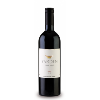 YARDEN Merlot Golan Heights Winery 2016
